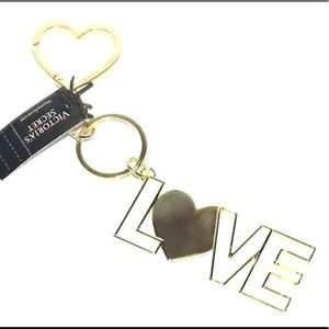 Victoria's Secret XO Love Heart Gold Key